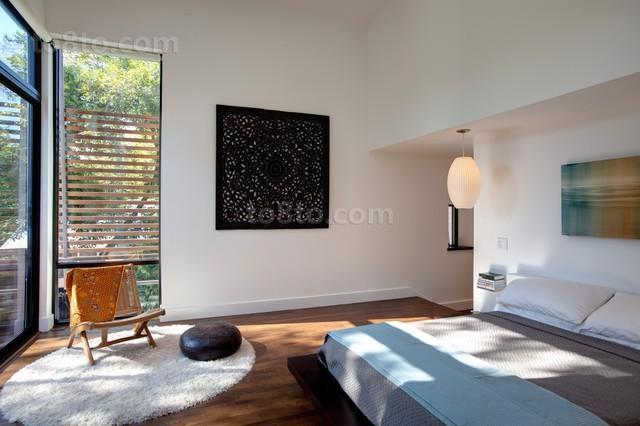 农村别墅简洁大方的卧室装修效果图
