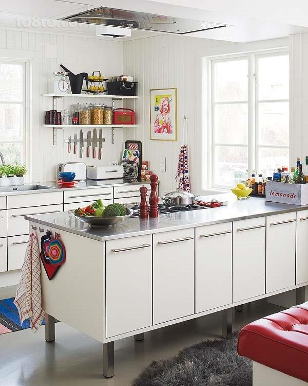 北欧小清新厨房装修效果图