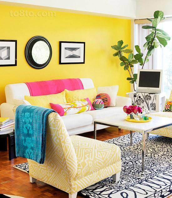 2013现代家庭客厅装修效果图欣赏