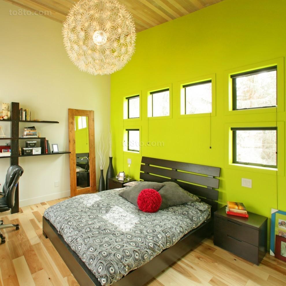 后现代风格主卧室装修效果图