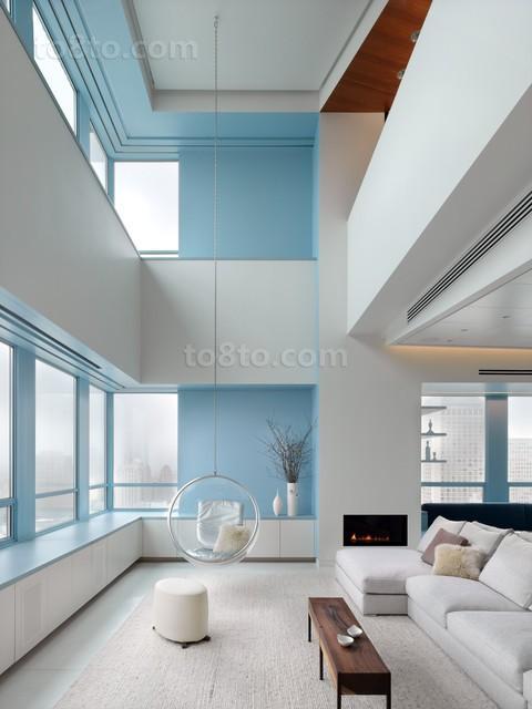 复式楼客厅裝修方案