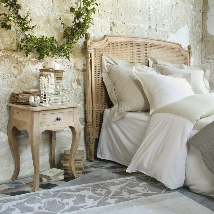 简约文艺的乡村别墅卧室装修效果图大全2012图片