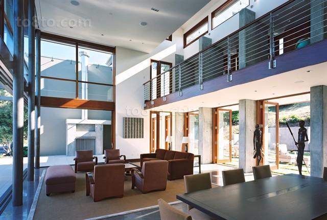 时尚现代别墅客厅装修效果图欣赏