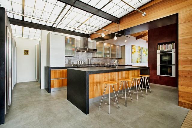 简约的乡村别墅厨房装修效果图大全2012图片