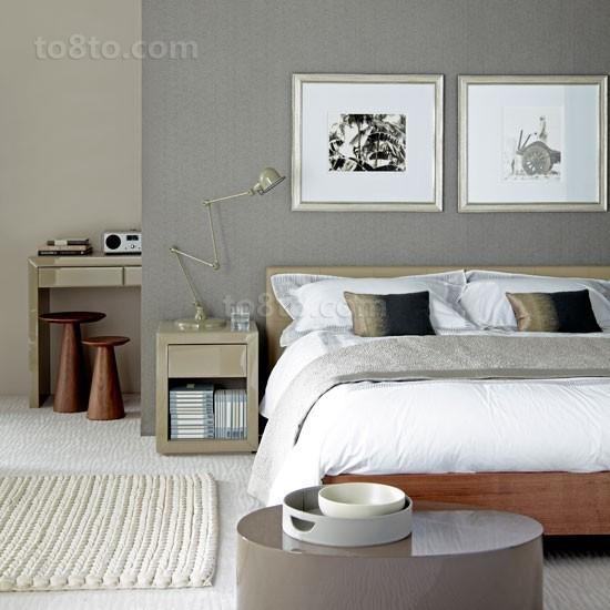 50小户型素雅卧室装修效果图