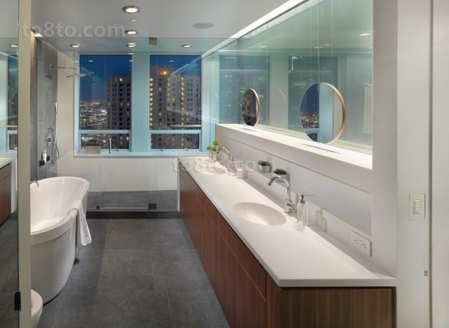 复式楼卫生间裝修方案