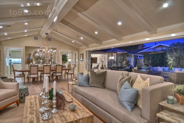 欧式别墅客厅装修效果图欣赏