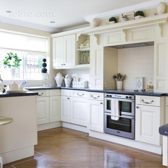 50小户型厨房橱柜装修效果图大全2014图片