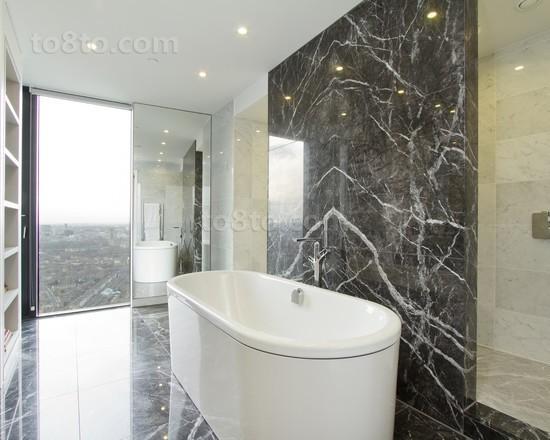 现代别墅卫生间装修效果图欣赏