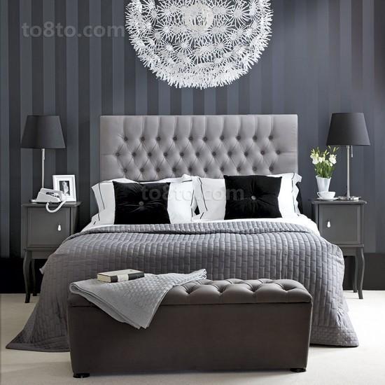 现代别墅卧室装修效果图欣赏