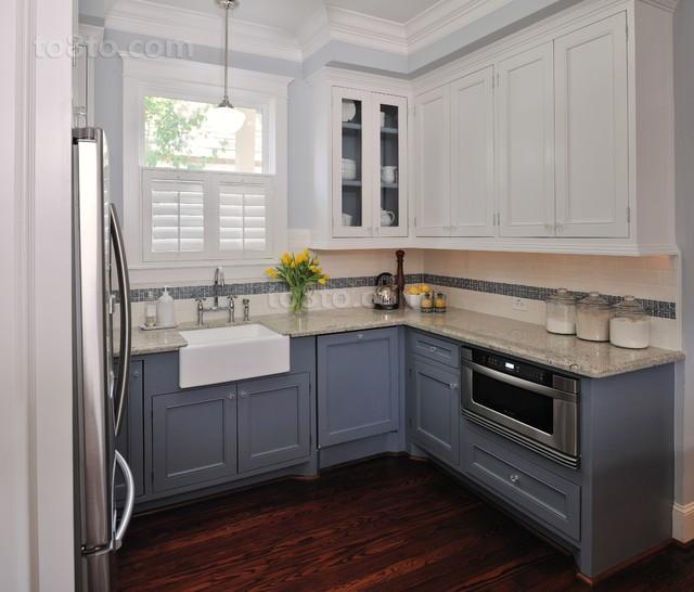 小户型清新素雅的厨房装修效果图