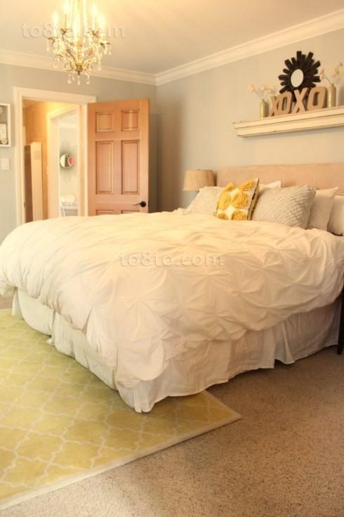 90平临海小户型卧室吊顶装修效果图大全2012图片