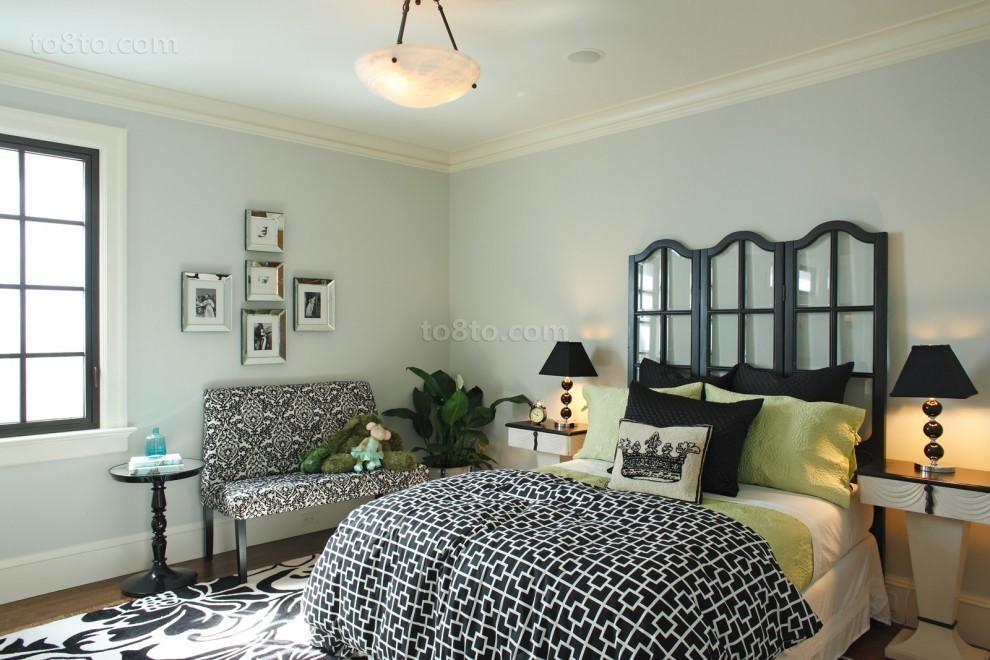 小复式清楼卧室装修效果图大全2014图片