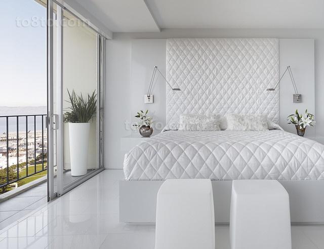 三室两厅现代简约卧室装修效果图大全2012图片