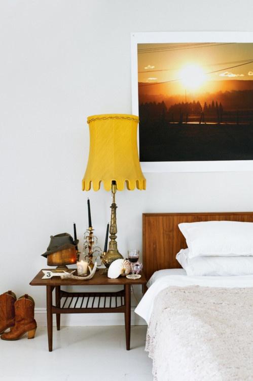 面积90平混搭三居卧室装修实景图