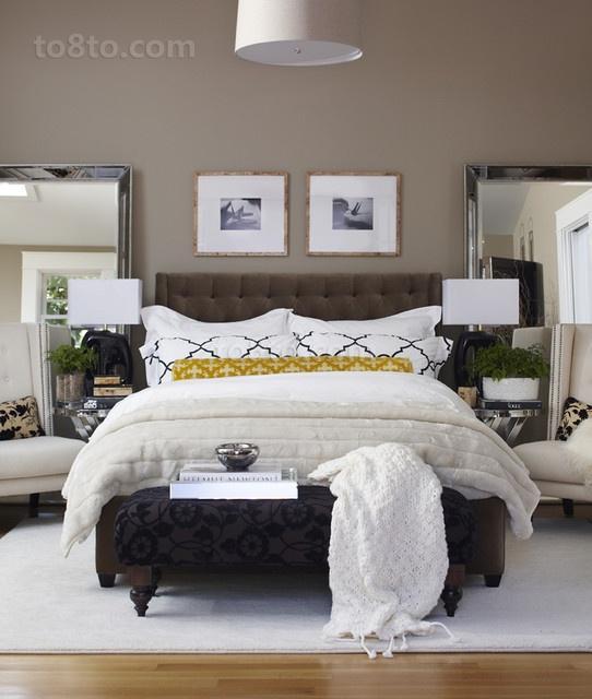 复式楼温暖的卧室装修效果图大全2014图片
