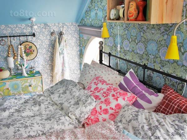 50小户型装修效果图 温暖的小卧室