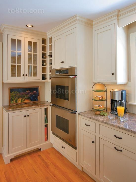 8万打造清新简约风格厨房橱柜装修效果图大全2014图片