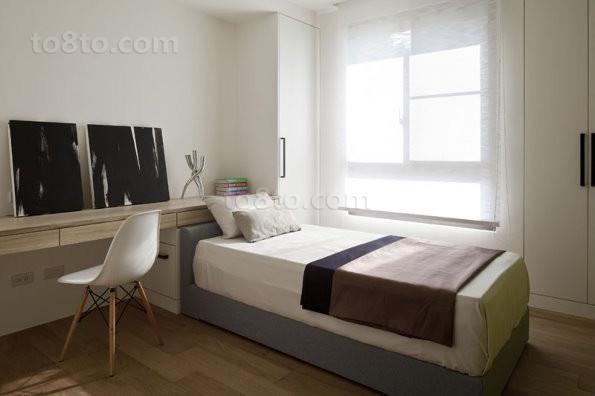 60㎡小户型卧室装修效果图大全2013图片