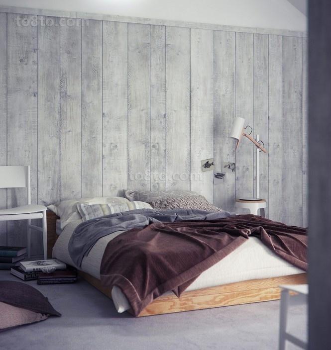 双层别墅复古素雅的卧室装修效果图大全2013图片