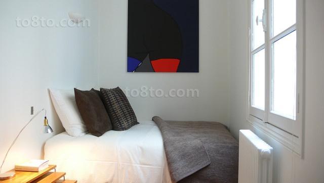 40平米小户型简约风格卧室装修效果图大全2014图片