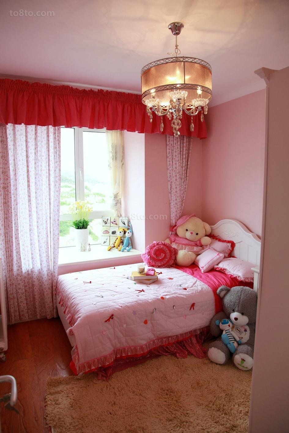 精选70平米二居儿童房欧式装修图片欣赏