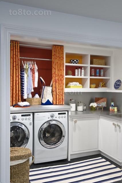 70㎡小户型家庭卫生间装修效果