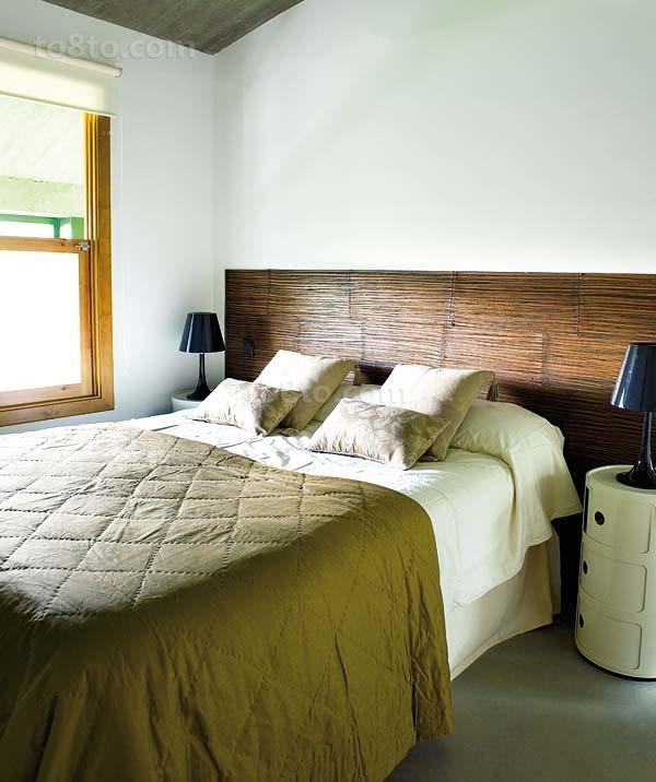 清新宁谧的小户型田园风格卧室装修效果图