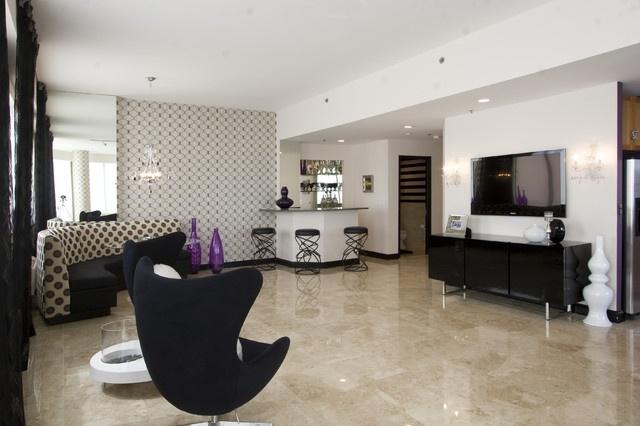 70平米小户型现代风格客厅电视背景墙装修效果图大全2012图片