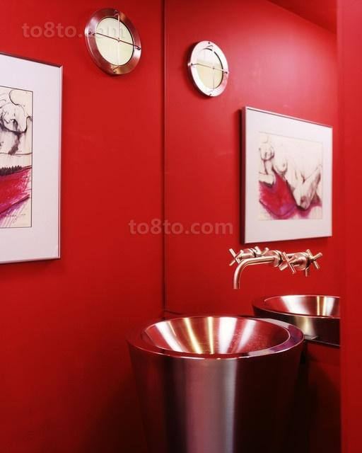 12万打造小户型浪漫婚房 卫生间装修效果图