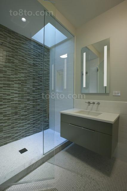 2014最新别墅现代风格卫生间装修设计效果图大全