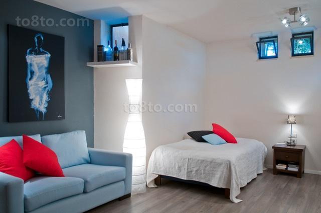 两室一厅美式风格卧室装修效果图大全2014图片