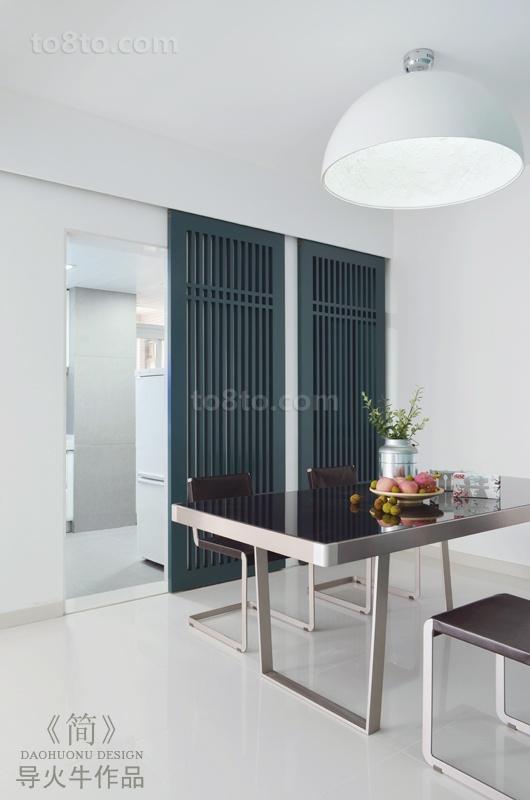 90平米小户型简约餐厅装修效果图大全2014图片