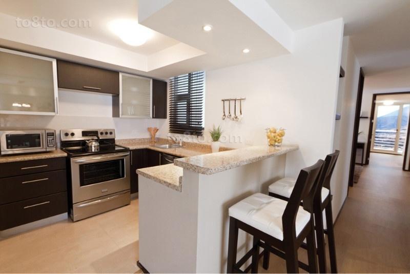 二室一厅装修效果图 简欧风格厨房橱柜