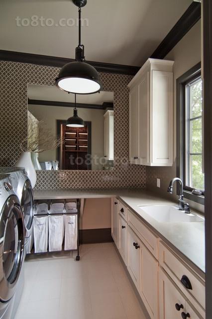 三室两厅欧式风格厨房橱柜装修效果图大全2012图片