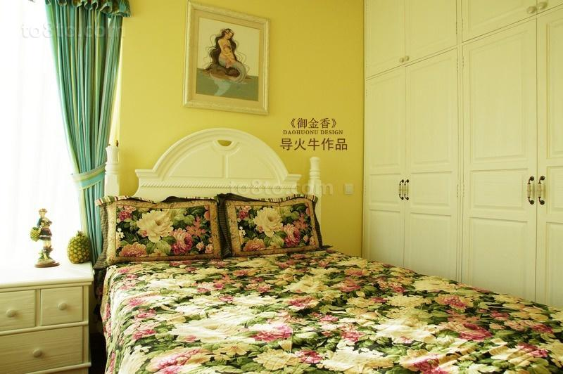 美式乡村风格卧室装修效果图欣赏