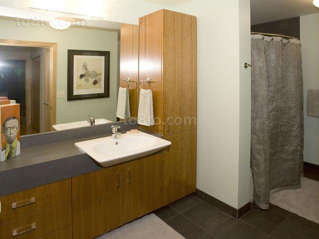 2012天琴湾现代时尚的小户型卫生间装修效果图