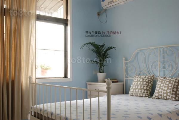 阳光里最新小户型卧室装修效果图大全2014图片