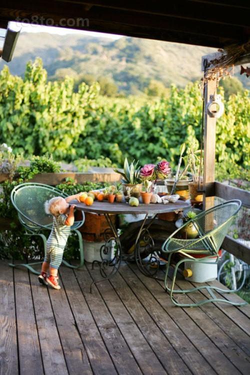 130万打造浪漫现代风格别墅花园装修效果图大全2012图片
