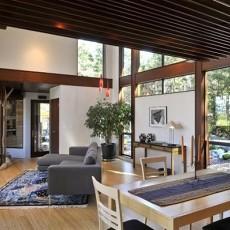 精选面积133平复式客厅混搭装修图