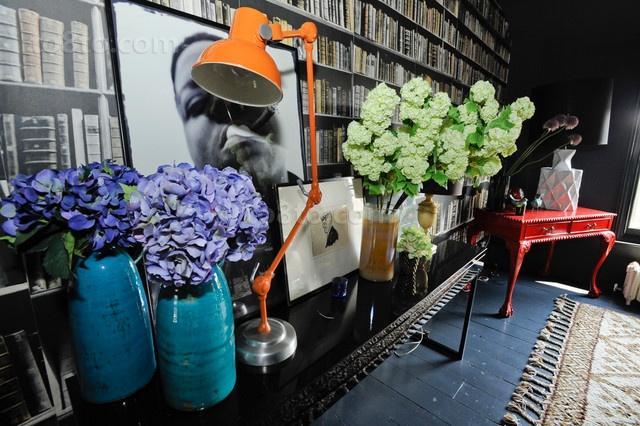 浪漫的书房装修效果图大全2012图片