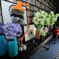 热门面积128平别墅书房现代装修图片欣赏
