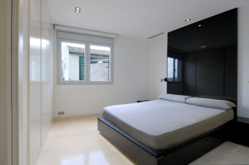 精美面积114平复式卧室混搭装修设计效果图