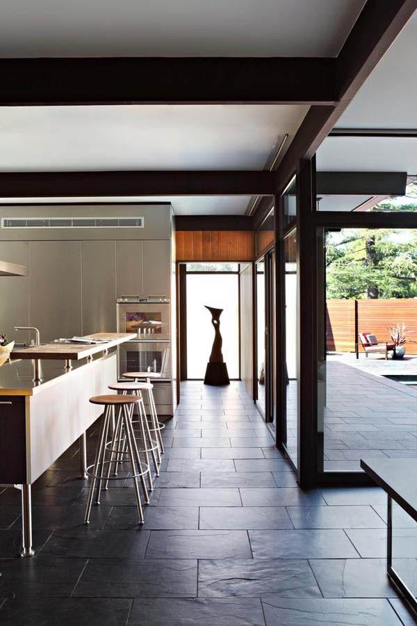 最新简约风格别墅餐厅隔断装修效果图大全2014图片
