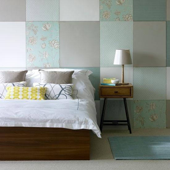 130万打造浪漫现代风格别墅卧室背景墙装修效果图大全2012图片