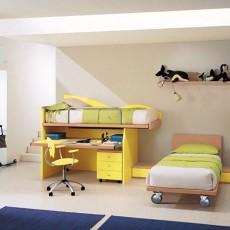 精美复式儿童房混搭装修效果图