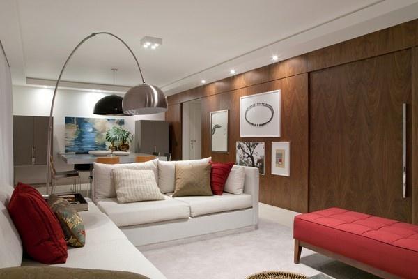 现代时尚的小户型客厅吊顶装修效果图大全