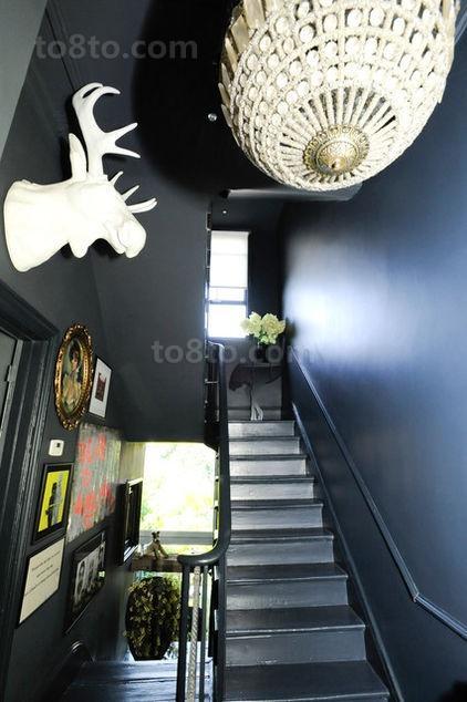 维多利亚风格别墅过道楼梯