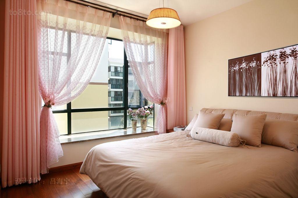 精选113平米美式复式卧室效果图片欣赏