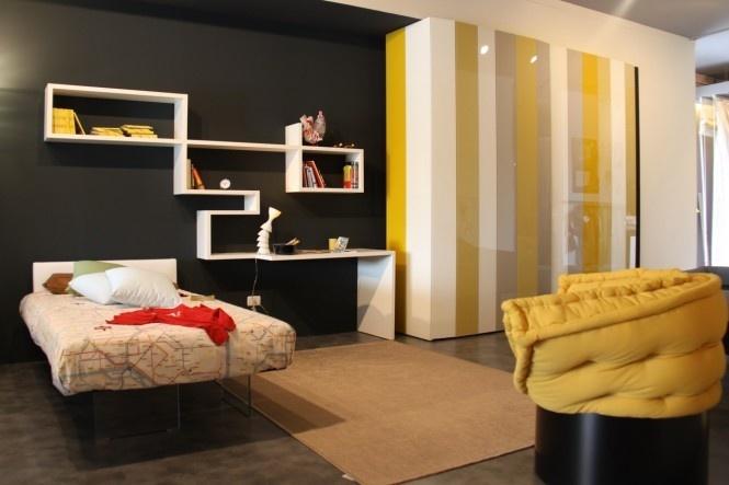 面积73平小户型卧室混搭实景图片欣赏
